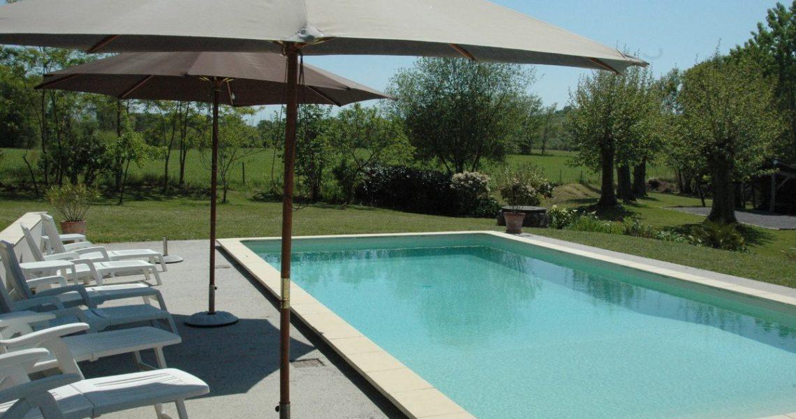 Gites landes avec piscine en aquitaine sud ouest