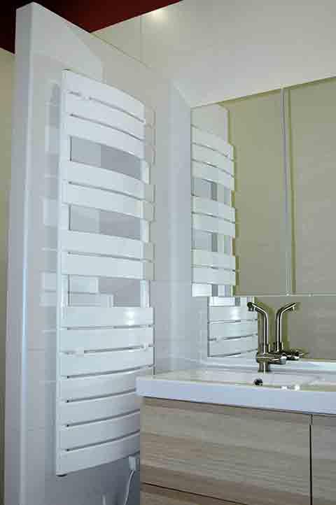 Salle de bain du Gite du Pihon proche Dax Landes - location meublé pour curistes en cure thermale à Dax