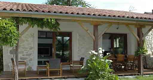 Gite landais avec jardin et terrasse