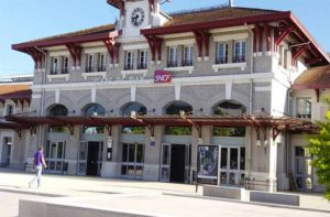 Gare de Dax Landes - location curistes pour cures thermales en rhumatologie arthrose arthrite