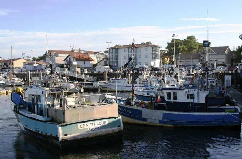 Port de Capbreton, Hossegor ocean, Vacances dans les Landes, Plages landaises