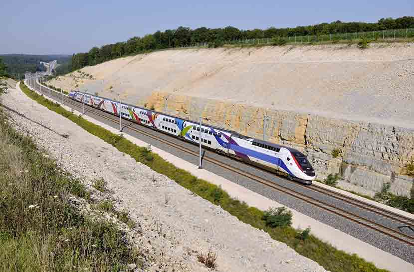 LGV train Paris Dax Landes Aquitaine week end vacances