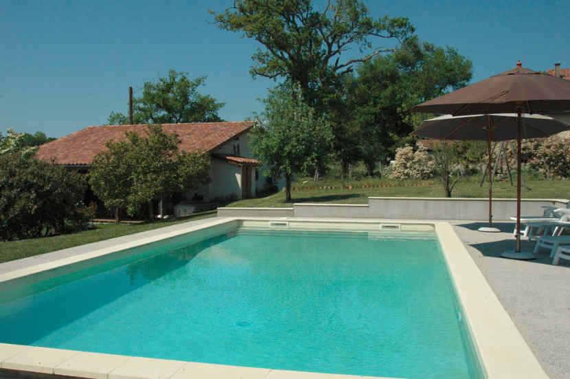 location vacances landes avec piscine , gite dax