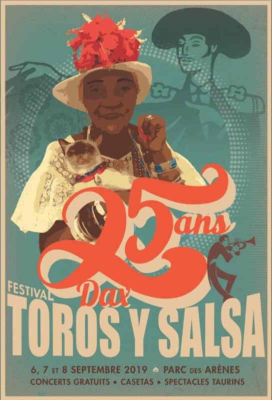 toros y salsa 2019 Festival salsa Dax
